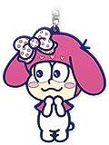 おそ松さん×サンリオキャラクターズ トド松×マイメロディ ラバーキーホルダー
