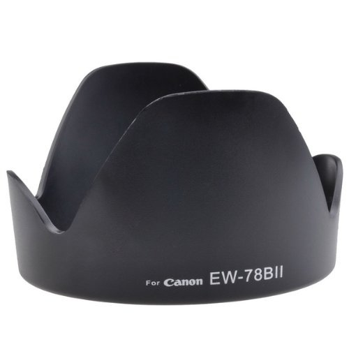 Neewer® Dedicated Bayonet Lens Hood, For Canon Eos Ef 28-135Mm F/3.5-5.6 Is Lens (Replaces Canon Ew-78Bii)