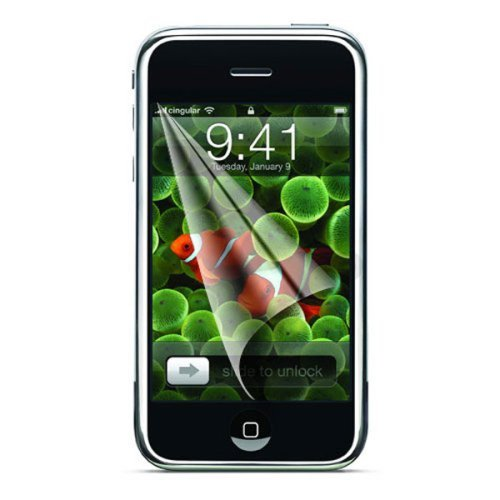 Qrisma Screen Guard Anti-Glare LCD Protector For Apple iPhone 3G