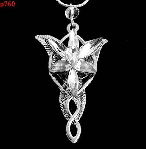 LOTR Arewn Evenstar Pendant-Alloy