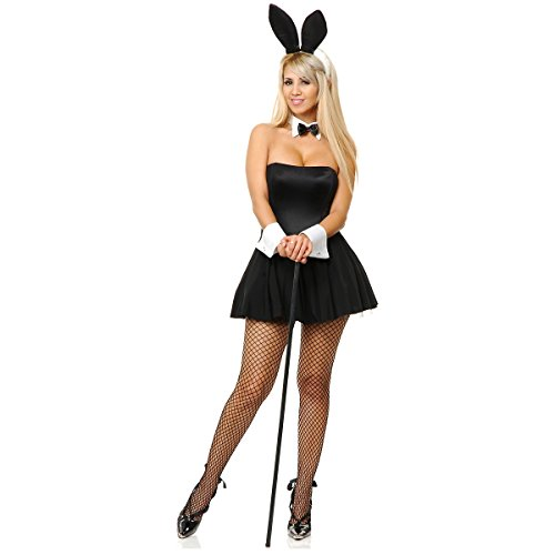 silver playtime bunny adult - Halloween Costumes Playboy
