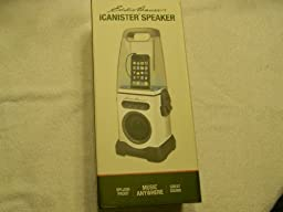 iCanister MP3/iPod Water-Resistant Speaker - White