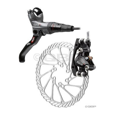 Avid Elixir CR X.9 Hydraulic Disc Brake 160mm Front Gray/Black