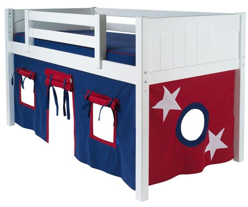 Low Bunk Beds For Kids 5889 front