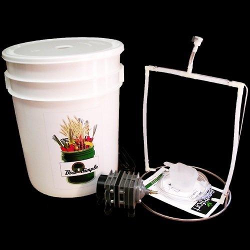 Dirt Simple 5 Gallon Compost Tea Brewer (Elaine Ingham Compost Tea compare prices)