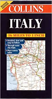 Italy (Collins European Road Maps): Collins Publishers: 9780004490311