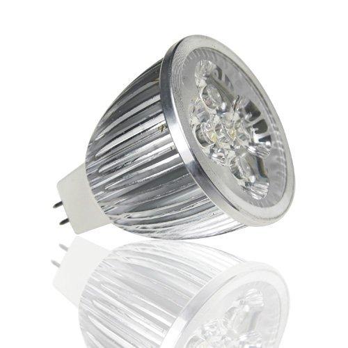 Lohas Led Energy Saving Decoration Household Light Bulb Mr16 12V Warm White 5X2W - Equivalent To 60 Watt Halogen (Pack Of 10)