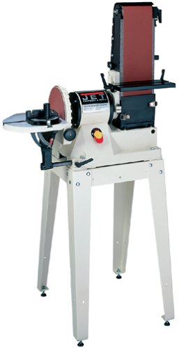 Read About JET 708596K JSG-96OS 6-Inch/9-Inch 3/4-Horsepower Open Stand Belt/Disc Sander, 115-Volt 1...