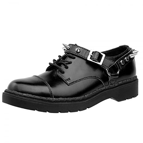 TUK Shoes - Stivali donna , Nero (Black), 40 EU