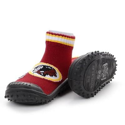 NFL Washington Redskins Infant Skidders Gripper Socks - Burgundy