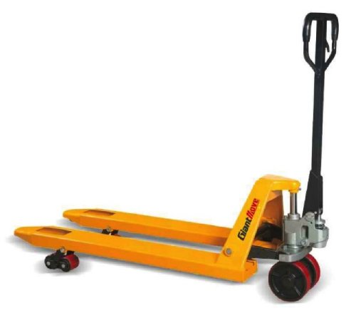 Tracked Pallet Jack: Giant Move MB-P25S Steel Hand Pallet Truck, 5500 Lbs