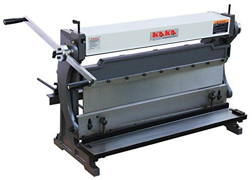 Kaka 3-In-1/760 30-Inch Sheet Metal Brake, High Efficiency, 20 Gauges Shear Brake Roll Combination, Versatility, Solid Construction, Sheet Metal Brakes, Shears and Slip Roll Machine (3 In 1 Sheet Metal Machine compare prices)