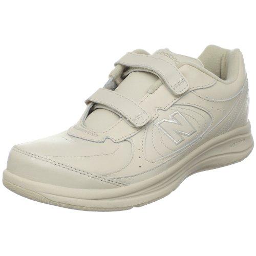 New Balance Women S Ww577 Walking Velcro Shoe Bone 8 B Us