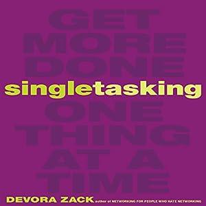 Singletasking Audiobook