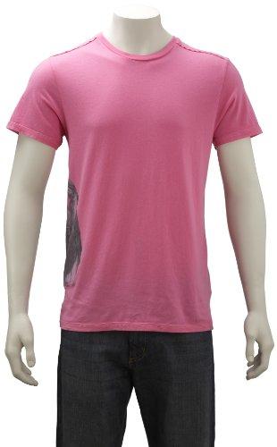 Joystick Junkies Mens T-Shirt Holy Archade Azalea Pink Hoa-Pklaxx Large