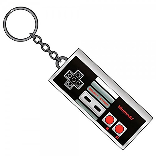 Nintendo Entertainment System Controller Metal Keychain
