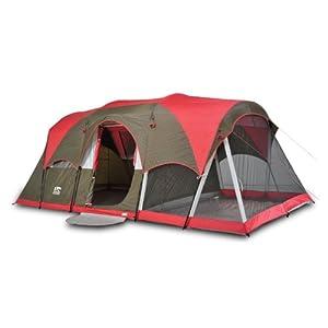 Igloo Mirror Lake II Family Dome Tent with Screen Room by Igloo