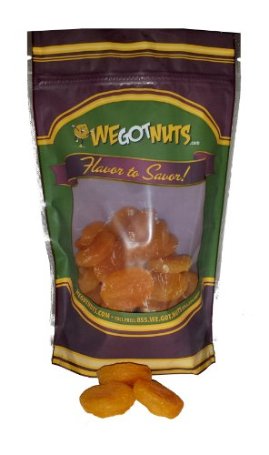 Turkish, Apricots, Whole, Dried, Jumbo - We Got Nuts (2 Lbs.)