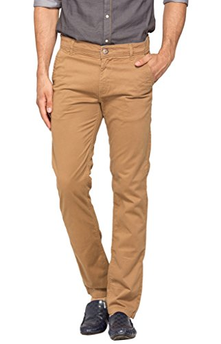 Spykar Men Cotton Khaki Trouser (30)