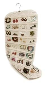 Closet Complete Canvas Ultra 80 Pocket Hanging Jewelry Organizer