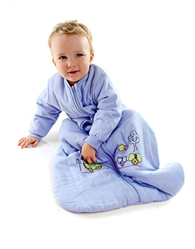 Winter Baby Sleep Sack Long Sleeves 3.5 Tog Choo Choo 6-18 mth/M