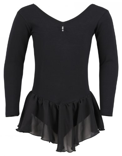 Long-sleeved ballet leotard 