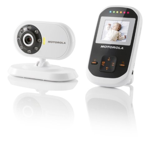 motorola mbp18 digital wireless video baby monitor with 1 8 inch color lcd screen 2 4 ghz fhss. Black Bedroom Furniture Sets. Home Design Ideas