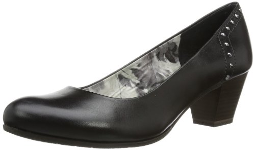 Marco Tozzi Premio Womens 2-2-22425-22 Pumps Black Schwarz (BLACK 001) Size: 39