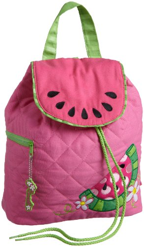 Stephen Joseph Quilted Backpack Watermelon