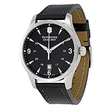 Victorinox Swiss Army Men's 241474 Alliance Black Dial and Strap Watch by Victorinox Swiss Army