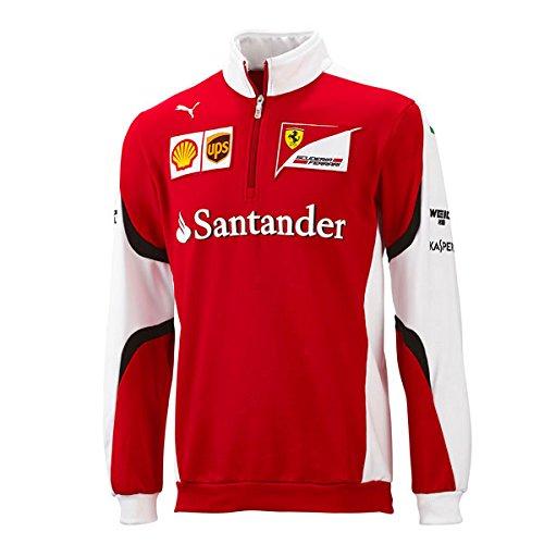 Ferrari Half-Zip Sweatshirt 2015 M