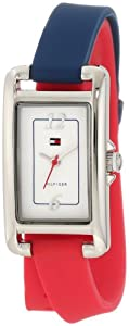 Tommy Hilfiger Women's 1781226 Sport Double Wrap Silicon Strap Watch