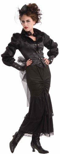 Woman's Steampunk Victorian Lady Costume