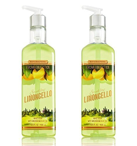 Bath & Body Works discount duty free Bath & Body Works Limoncello Luxury Hand Soap 15.5oz Set of 2 - by Bath & Body Works