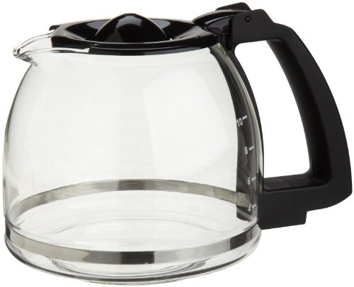 Capresso 10-Cup Glass Carafe  Lid for CoffeeTeam