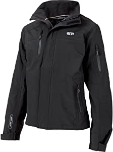 Madison Telegraphe Mens Waterproof Jacket, Black Medium