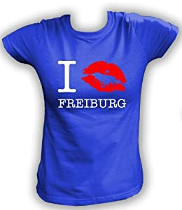 Artdiktat T-Shirt I kiss Freiburg