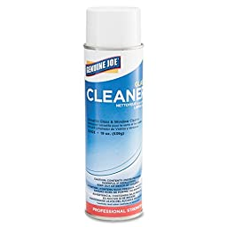 Genuine Joe GJO02103 Aerosol Glass Cleaner, 19oz