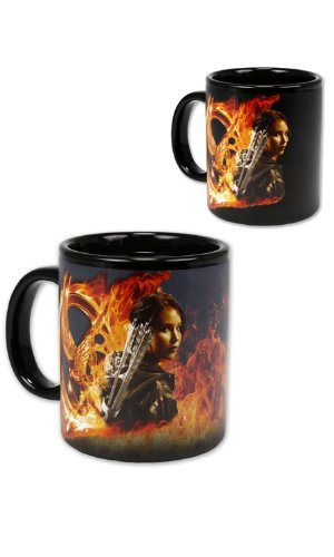 The Hunger Games Movie Thermal Mug Katniss & Peeta