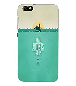 PrintDhaba Quote D-2998 Back Case Cover for HUAWEI HONOR 4X (Multi-Coloured)