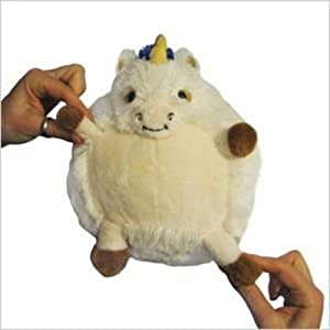 "Mini Squishable Unicorn 7"" Plush Toy"