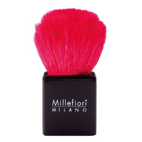 ミッレフィオーリ×熊野筆 バラ型パウダーブラシ レッド
