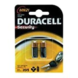 Duracell MN21 LRV08-C2 Specialist Alkaline Batteries Carded 1