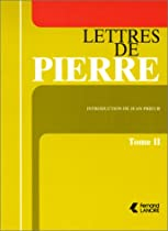 Lettres de Pierre