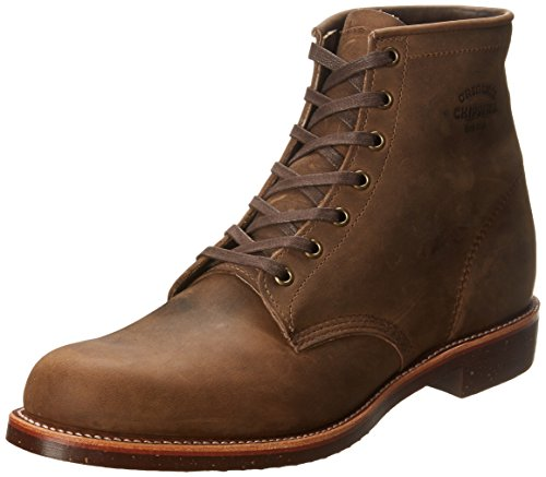 Original Chippewa Collection Men'S 6 Inch Service Utility Boot,Crazy Horse,9.5 D Us