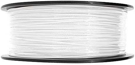 AFUNTA ABS 3D Pen Filament 1.75mm 1kg Spool for 3D printer Dimensional Accuracy +/- 0.05mm(white)