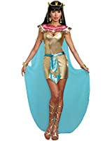 Dreamgirl Women's Sexy Egyptian Queen Costume, Cleopatra