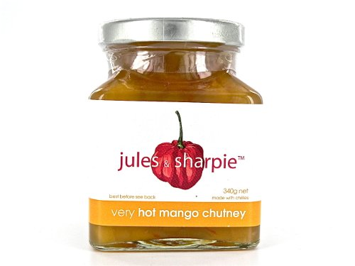 Jules & Sharpie Very Hot Mango Chutney