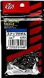 NTスイベル(N.T.SWIVEL) スナップ付きタル型サルカン (50個入) 黒 7