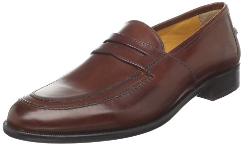 Johnston & Murphy Men's Vauter Penny Loafer,Mahagony,10.5 M US
